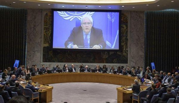 """في إحاطة غريفيت"""" لـ """"مجلس الأمن"""": الاعتداء على مأرب يجب أن يتوقف"""