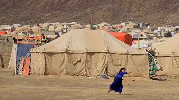 """بيان """"يستعرض"""" الانتهاكات الحوثية بحق النازحين والمدنيين بمأرب"""