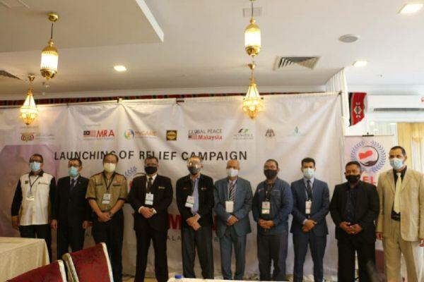 """انطلاق الحملة الإغاثية """"ساعد اليمن"""" في العاصمة الماليزية كوالالمبور"""