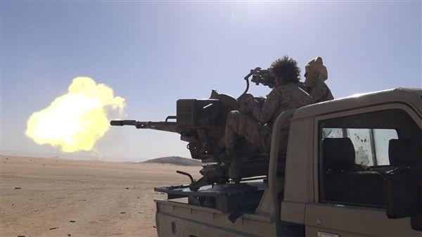 قتلى وجرحى حوثيين بكمين محكم لأبطال الجيش شرق حزم الجوف