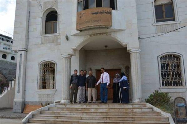 نقابة الصحفيين تدين استيلاء متمردو الانتقالي على مقر وكالة سبأ في عدن