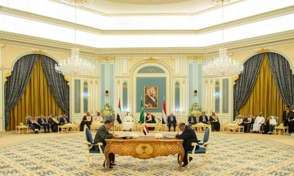 الفريق الحكومي لمتابعة تنفيذ اتفاق الرياض يتهم الانتقالي بعرقلة عودة الحكومة