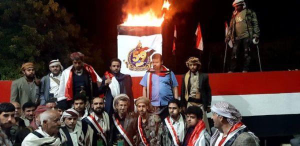 أحرار العاصمة يوقدون شعلة الثورة في منزل الأحمر بصنعاء.. والمليشيات تبدو معزولة