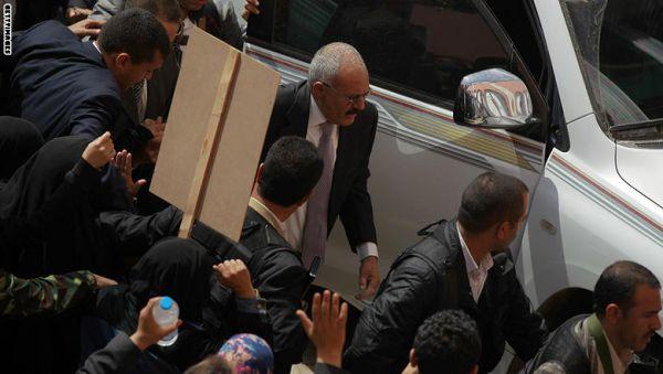 """صالح: الإخوان جماعة """"إرهابية"""" وبضاعة أمريكية"""