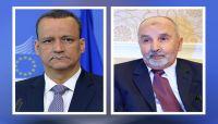 """رئيس حزب """"الإصلاح"""" يبحث مع ولد الشيخ مستجدات الأوضاع في اليمن"""