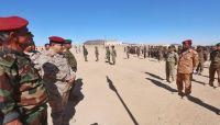 """""""المقدشي"""" يتفقد لواء القوات الخاصة بمأرب ويؤكد: سيكون له دورًا قادمًا في تحرير البلاد"""