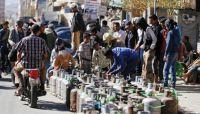 بسبب أزمة الغاز.. مطاعم ومحلات تغلق أبوابها واحتجاز ناقلات خارج العاصمة صنعاء