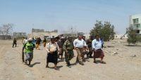 نائب وزير الداخلية يطلع على تأهيل معسكر قوات الأمن الخاصة في عدن