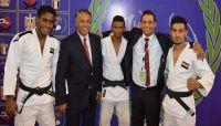 اليمن يحقق ثلاث ميداليات في البطولة العربية للجودو بمصر
