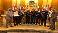مجلس وزراء الإعلام العرب يكرم إعلاميين يمنيين بمشاركة الوزير الارياني