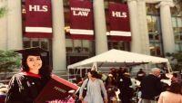 """""""صفاء كرمان"""" أول يمنية تحصل على الماجستير من جامعة هارفارد الأمريكية"""