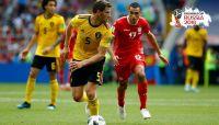 بلجيكا خامس المتأهلين إلى ثمن نهائي المونديال على حساب تونس