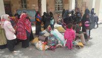 نازحون في صنعاء يشكون تعسفات الحوثيين وحرمانهم من المعونات