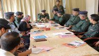 """مدير عام شرطة مأرب يلتقي بممثلي مركز """"سيفيك"""" في اليمن"""