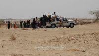 """حجه: الحوثيون يجبرون أهالي قرية """"السادة"""" على النزوح بقوة السلاح (صور)"""