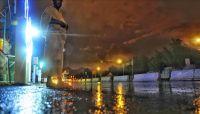 عشية الركن الأعظم.. أمطار غزيرة على صعيد عرفات