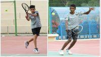 اللاعب اليمني نورس إلى نهائي البطولة الأسيوية للتنس الأرضي