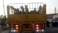 الحوثيون ينهبون مولدات كهربائية من الحديدة باتجاه صنعاء