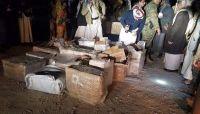 أمن الجوف يضبط حمولة مواد خاصة بتصنيع الطائرات المسيّرة كانت في طريقها للمليشيات