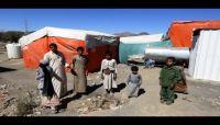 مقتل سبعة مدنيين في قصف حوثي على مخيم للنازحين بحجة