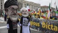 مئات المعارضين الايرانيين يتظاهرون بواشنطن للمطالبة بـ«تغيير النظام»