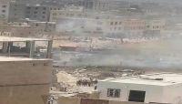 استشهاد وإصابة عدد من طالبات إحدى مدارس صنعاء بانفجار ناقلة غاز