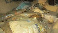 """أمن مأرب يضبط شحنة """"حشيش"""" كانت في طريقها للحوثيين بصنعاء"""