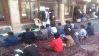 """عزوف سكان صنعاء عن إلحاق أولادهم في """"المخيمات الصيفية"""" للحوثيين"""