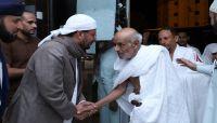 وزير الأوقاف يستقبل أول فوج من الحجاج اليمنيين لدى وصولهم مكة المكرمة