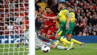 ليفربول يسحق ضيفه نوريتش سيتي في افتتاح الدوري الإنجليزي