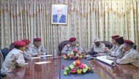 وزير الدفاع يشدد على رفع الجاهزية واليقظة في جميع الوحدات والمواقع العسكرية