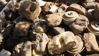 إتلاف أكثر من 1700 لغماً زرعتها المليشيات الحوثية بجبهة مران بصعدة