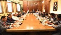 الرئيس هادي يلتقي ممثلي التحالف الوطني للأحزاب السياسية