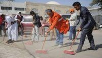 مأرب تحيي اليوم الوطني للنظافة بحملة شاملة