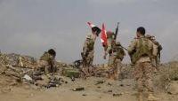 مدفعية الجيش تدك تعزيزات حوثية شرقي صنعاء وإتلاف كميات من الألغام