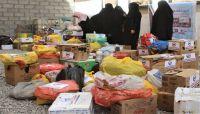 حرائر عمران وصعدة يسيّرن وجبات غذائية لأبطال الجيش الوطني