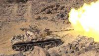 الجيش الوطني يستعيد عدد من المواقع شرقي صنعاء