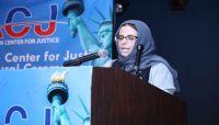الناشطة جامل تدعو لضغط واسع لإنقاذ المختطفين في سجون الحوثي