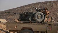 """مصرع 12 حوثياً وإسقاط """"مسّيرة"""" حوثية في جبهة نهم شرق صنعاء"""