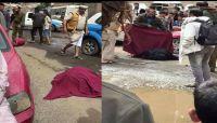 في ظل الفوضى الأمنية..مسلح يقتل زوجته وابنه وسط صنعاء بوحشية