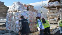 وصول طائرة شحن عليها مساعدات طبية إلى مطار صنعاء