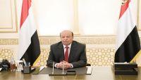 """الرئيس هادي: """"الحوثية"""" حولت صنعاء لسجن كبير ولن نسمح بتكرار التجربة الايرانية"""