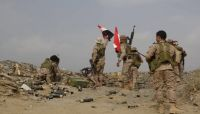 """الجيش يُكبد المليشيا خسائر بشرية ومادية جنوبي مأرب ويسقط """"مفخخة"""" في نهم"""