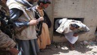 """بحجة أنها مخالفة لمعايير محمد على الحوثي.. المليشيا """"تهدم"""" 35 منزلاً في بني الحارث"""
