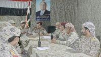اجتماع عسكري بمأرب يشيد بانتصارات الجيش ويؤكد: النصر حليف المشروع الوطني الجامع