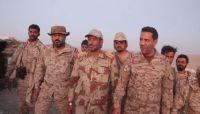 """رئيس الأركان وناطق التحالف يتفقدان جبهات الجوف وخسائر جديدة لـ""""الحوثية"""" غربي مأرب"""