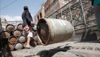 نسبة إضافية.. مليشيا الحوثي تستغل شركة الغاز لنهب مالكي المطاعم والبوافي بصنعاء